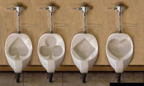 Themed Urinals
